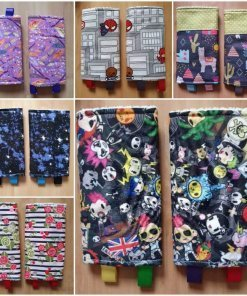Selection of colourful suck pads